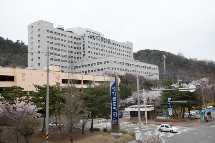 성가롤로병원 전경