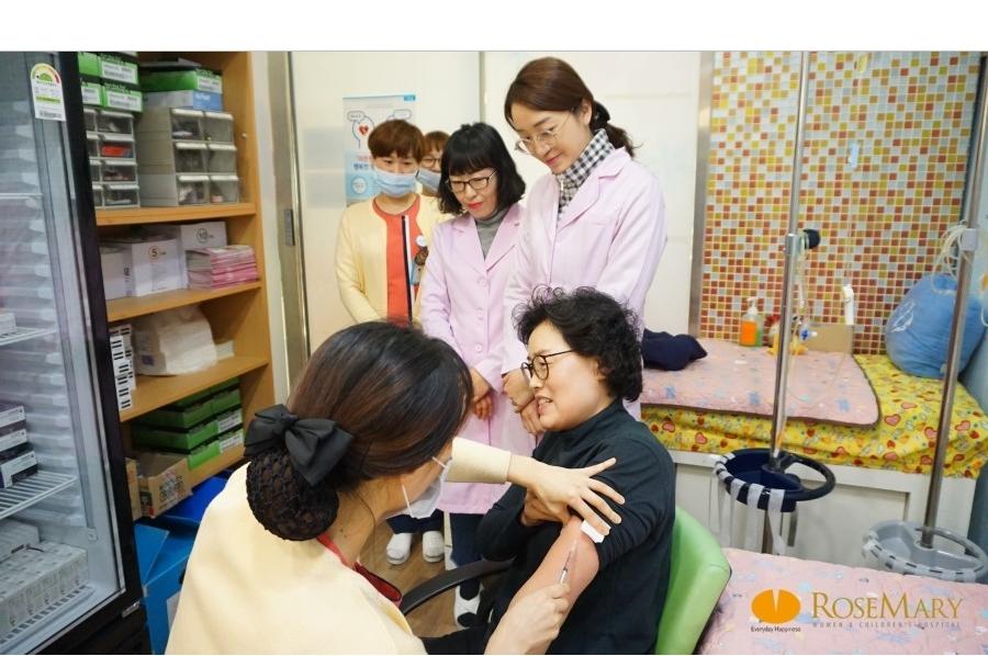홍역 예방접종